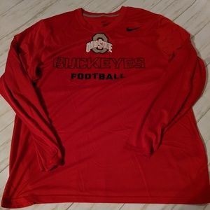 XL Ohio State Dri Fit long sleeve t shirt